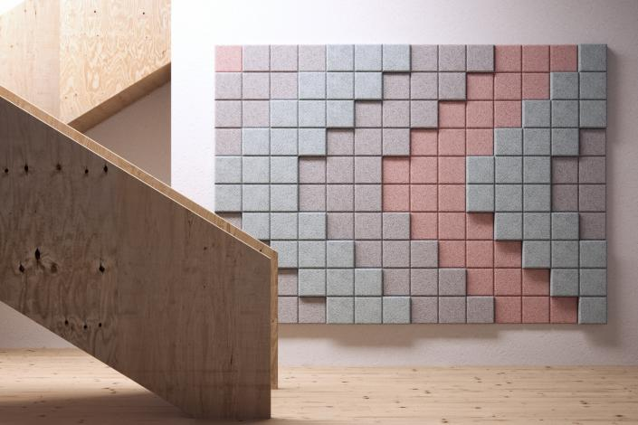 BAUX 3D Pixel Stair