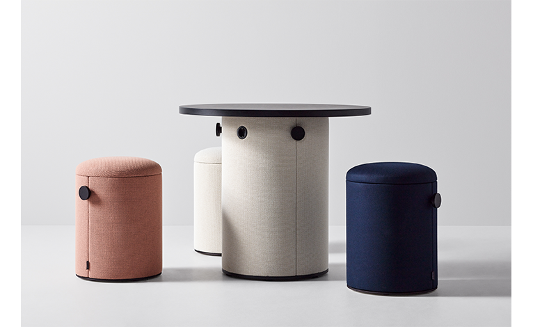 dB Stool by Abstracta AB certified by acousticfacts.com