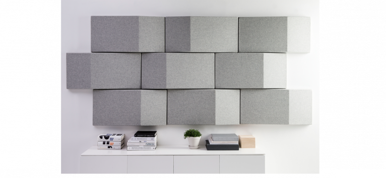Triline Wall by Abstracta AB certified by acousticfacts.com