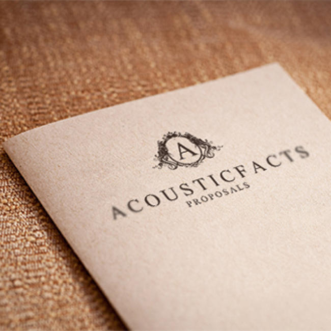 Acousticfacts Proposals