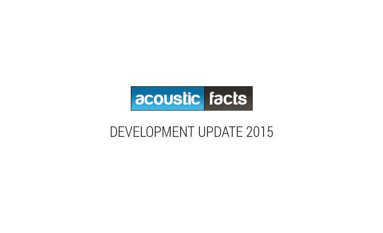 Development update acousticfact.com