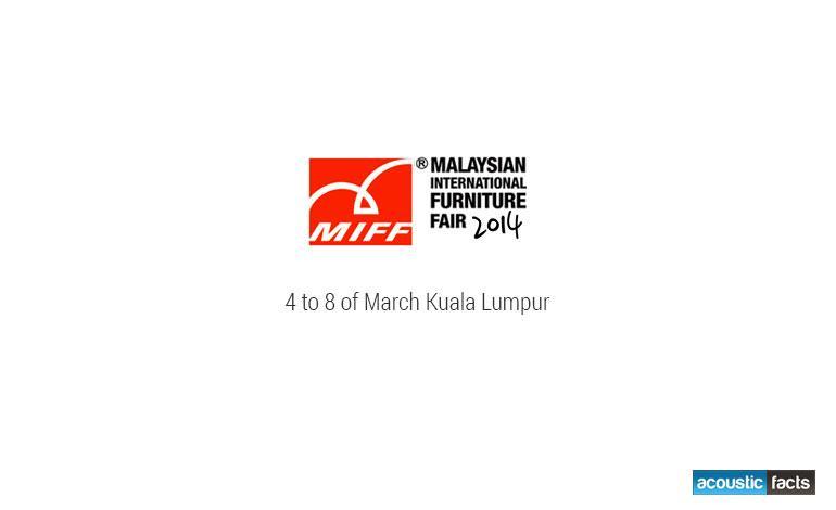 Malaysian International Furniture Fair Acoustic Facts