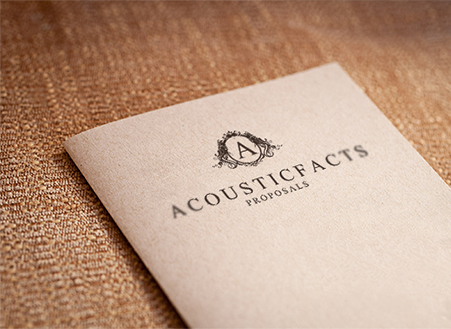 Acousticfacts Proposals